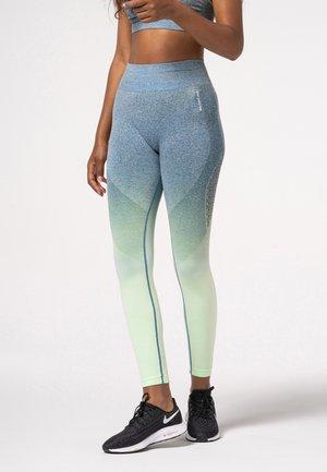 PHASE OMBRE  - Leggings - blue