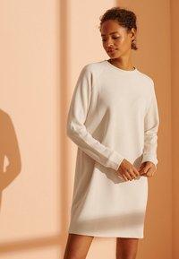 Superdry - SOFT - Day dress - rice white - 0