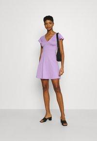 Even&Odd - Robe en jersey - lilac - 1