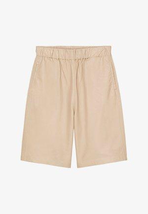 AUS SOFTEM LAMM-NAPPA - Shorts - blushed camel