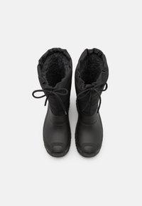 Pier One - UNISEX - Winter boots - black - 3