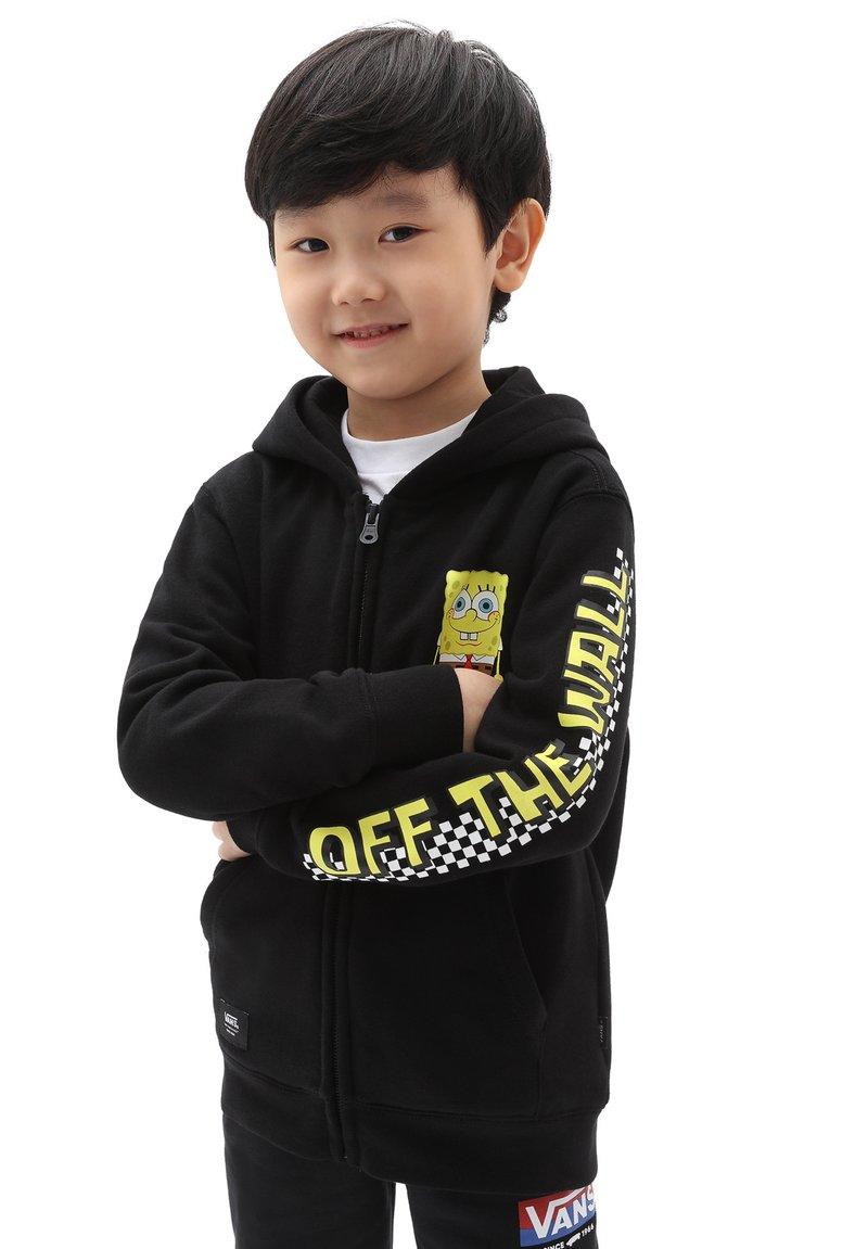 Vans - BY VANS X SPONGEBOB HAPPY FACE KIDS FZ - Zip-up sweatshirt - (spongebob) happy face