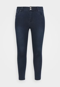 CAPSULE by Simply Be - SHAPE AND SCULPT - Jeans Skinny Fit - indigo - 4