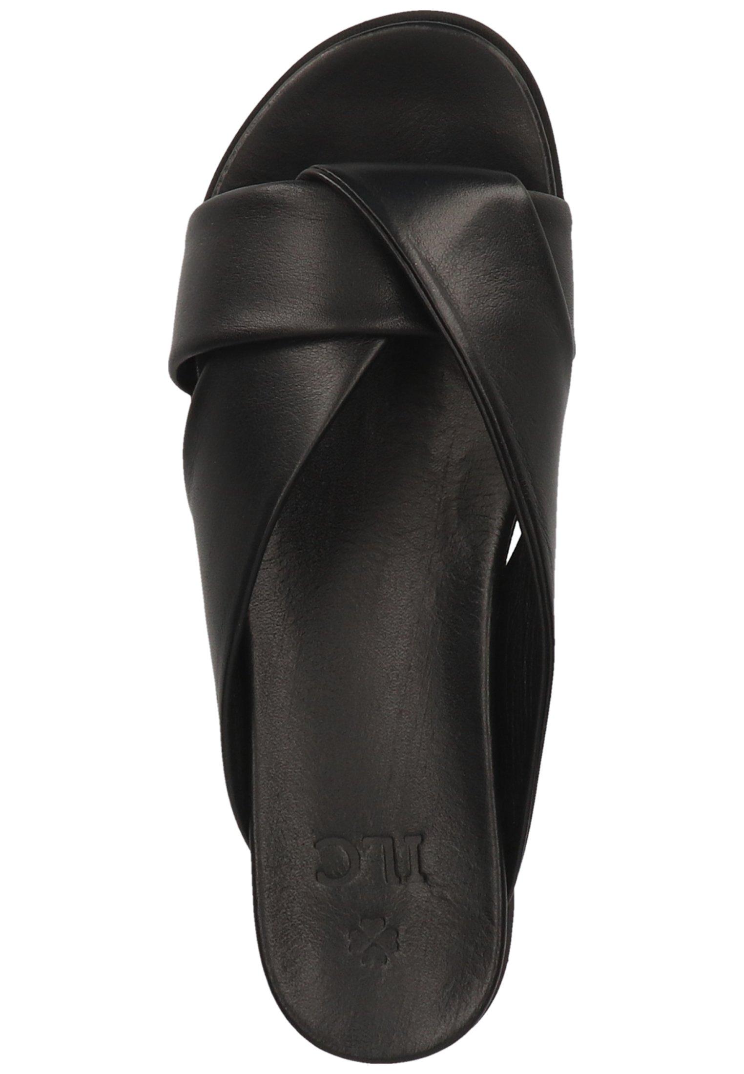 ILC PANTOLETTEN Pantolette flach black 01