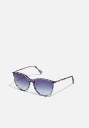 Sunglasses - shiny blue/blue