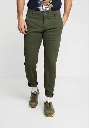 SMART SUPREME FLEX TAPERED - Trousers - deep depths
