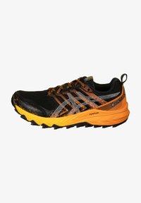 ASICS - Trail running shoes - black / sheet rock - 0