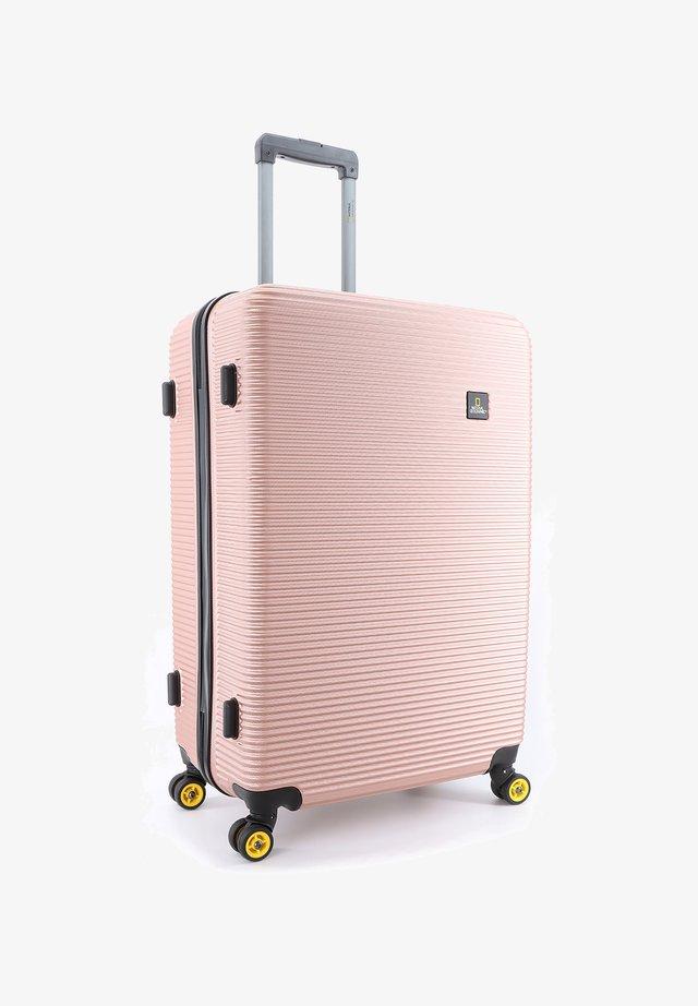 Wheeled suitcase - gold