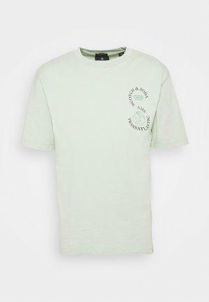 ARTWORK TEE - T-shirt med print - sea foam