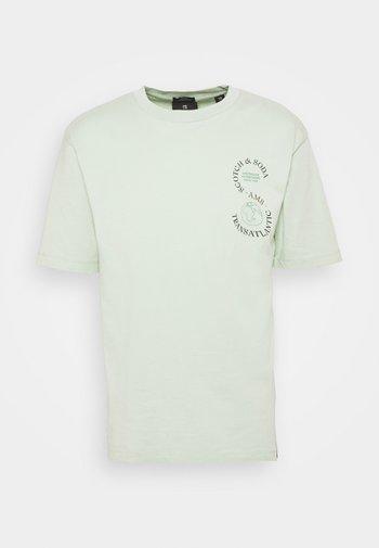 ARTWORK TEE - T-shirt print - sea foam