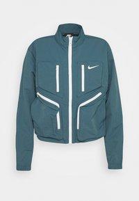 Nike Sportswear - Sportovní bunda - ash green - 4