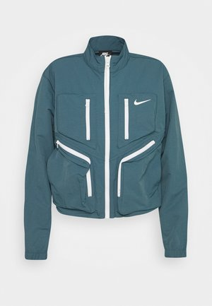 Training jacket - ash green