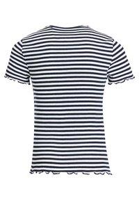 WE Fashion - T-shirt basic - dark blue - 4