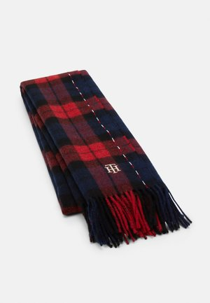 SCARF CHECK - Scarf - blue