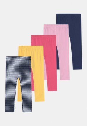 5 PACK - Leggings - multi-coloured