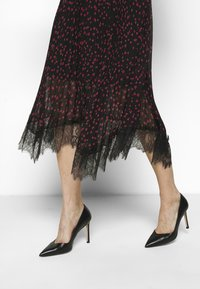 DKNY - Day dress - black rudolph/red powder/pink multi - 3