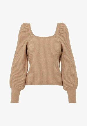 YASDURA - Sweter - natural