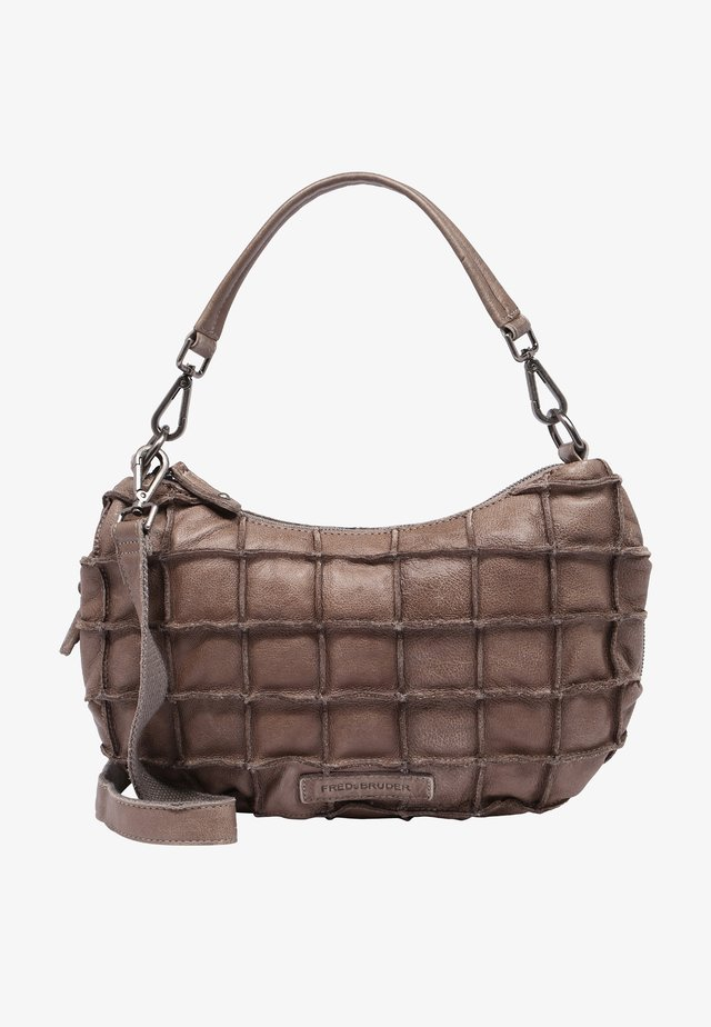 SQUARELY - Handbag - brown