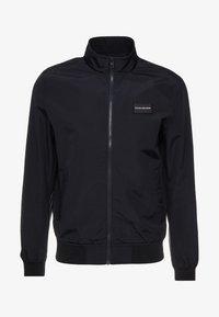 Calvin Klein Jeans - ZIP UP HARRINGTON - Bomber Jacket - black - 4