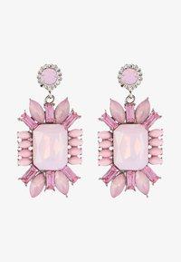 sweet deluxe - Earrings - weiß/pink - 1