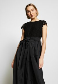 Lauren Ralph Lauren - TAFFETA LONG GOWN COMBO - Společenské šaty - black - 3