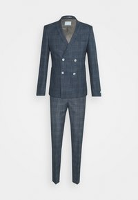 Viggo - WEGNER DOUBLE BREASTED SUIT - Suit - navy - 0