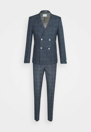 WEGNER DOUBLE BREASTED SUIT - Traje - navy