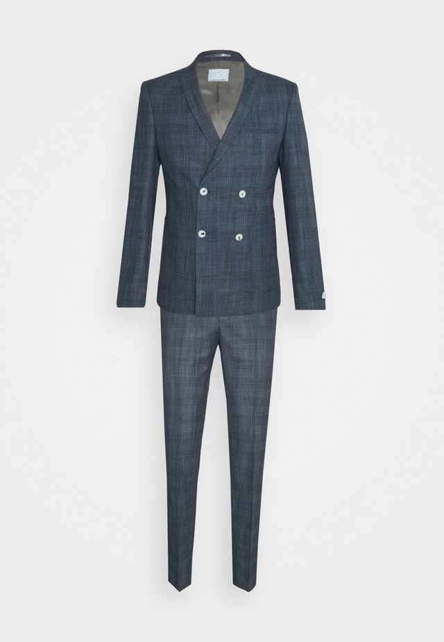 WEGNER DOUBLE BREASTED SUIT - Kostuum - navy