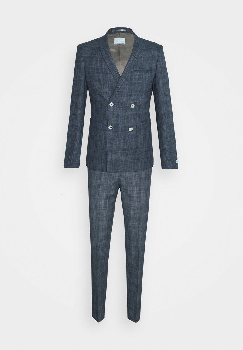 Viggo - WEGNER DOUBLE BREASTED SUIT - Suit - navy