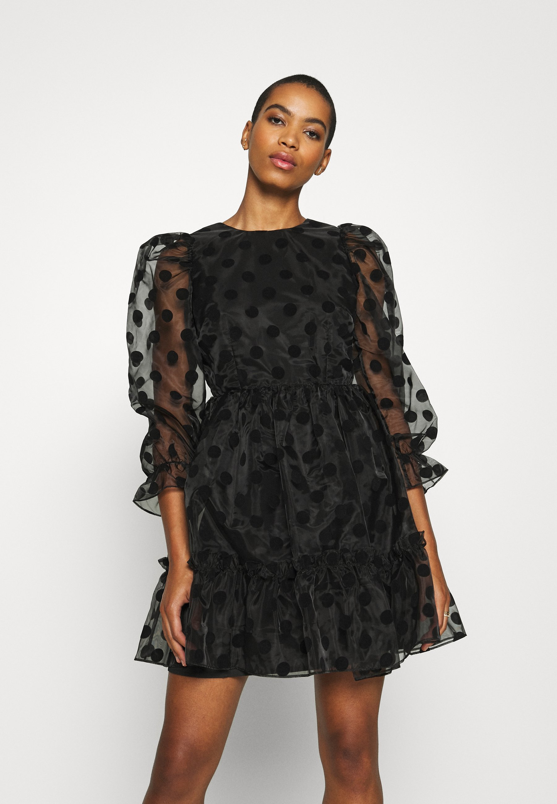 Tania cena Duża obniżka By Malina JUDY DRESS - Sukienka koktajlowa - black | Odzież damska 2020 2lmt3