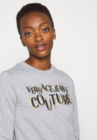 Versace Jeans Couture - Sweater - grey/gold - 3