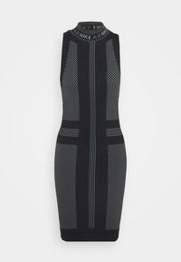 Nike Sportswear - AIR  - Shift dress - black/white - 4