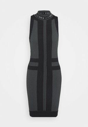 AIR  - Shift dress - black/white