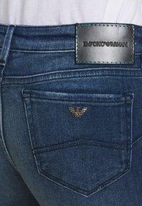 Emporio Armani - Jeans Skinny Fit - blue denim - 4