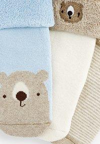 Next - 3 PACK  - Socks - light brown - 5