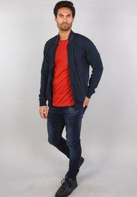 Gabbiano - Zip-up hoodie - navy - 1
