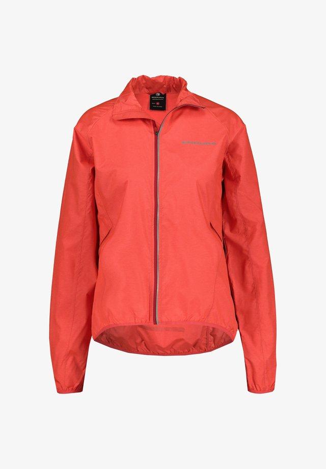 "ENDURA DAMEN RADSPORTJACKE ""PAKAJAK"" - Training jacket - coral"