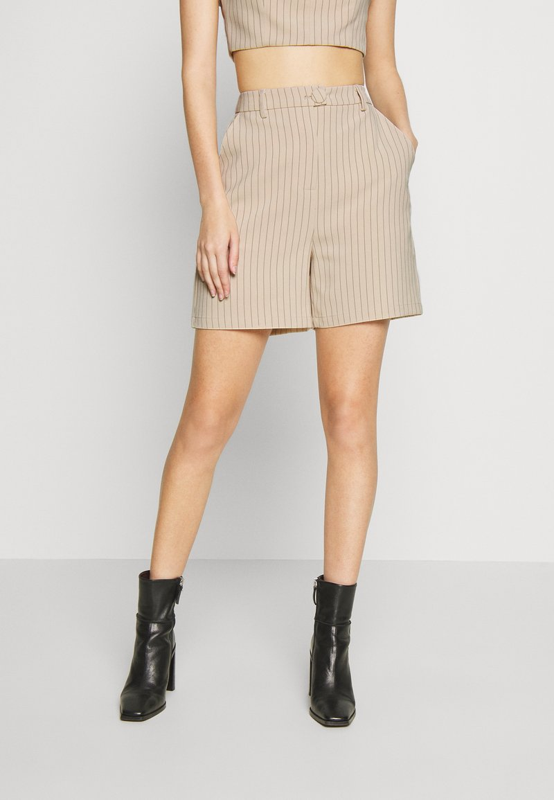 4th & Reckless - LAUREN TROUSER - Shorts - nude