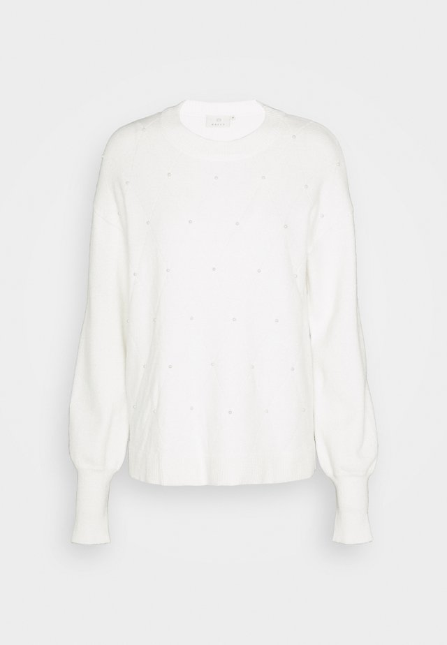 PEARL  - Pullover - chalk