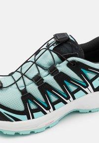 Salomon - XA PRO 3D CSWP UNISEX - Hiking shoes - pastel turquoise/black/tanager turquoise - 5