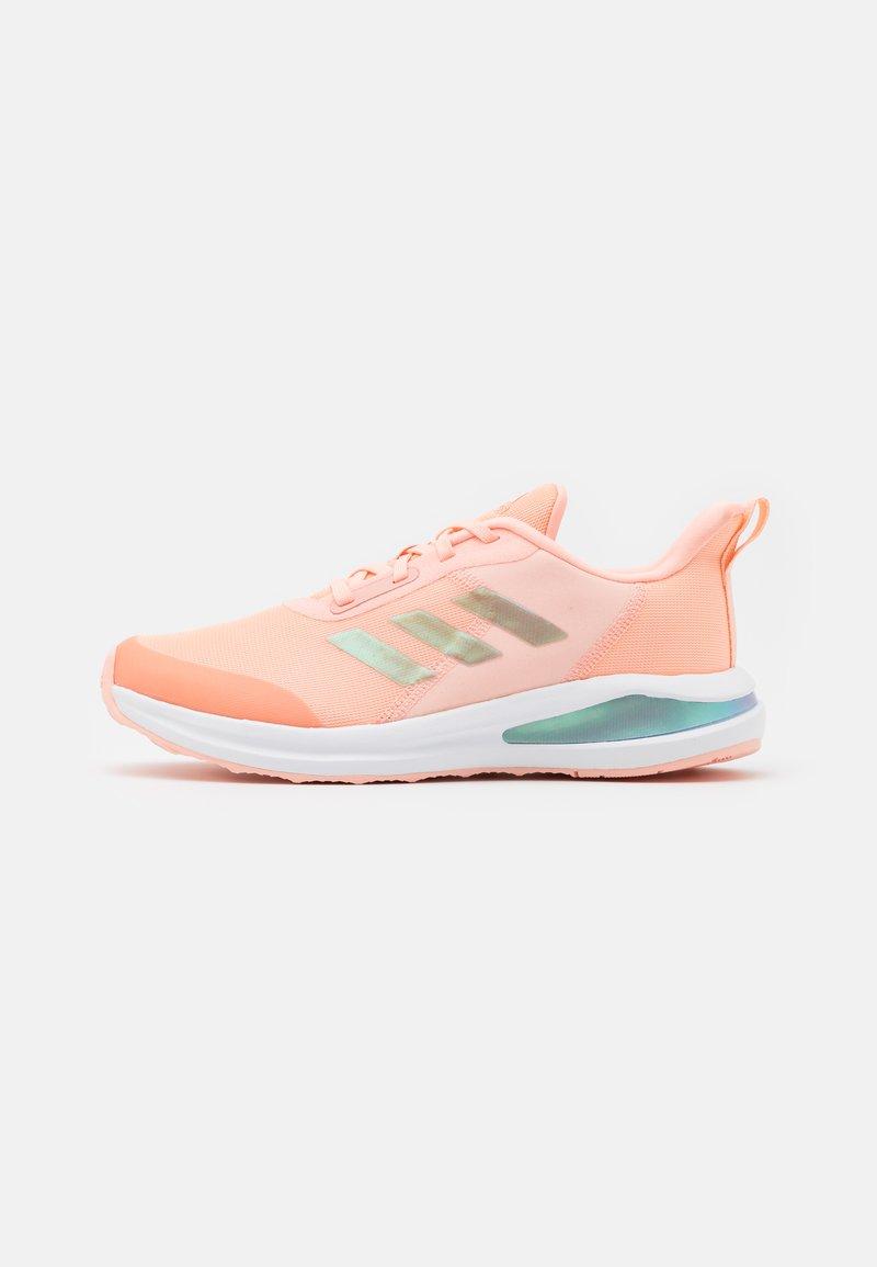adidas Performance - FORTARUN KIDS NEXT CLOUDFOAM RUNNING SHOES UNISEX - Neutral running shoes - haze coral/footwear white/grey two