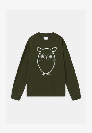 LOTUS OWL - Sweater - forrest night