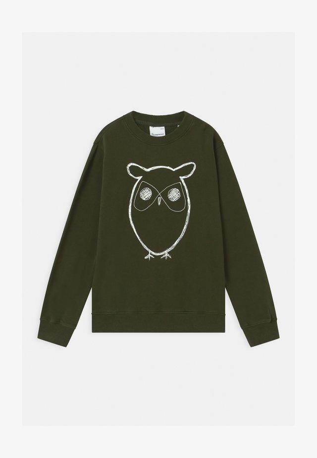 LOTUS OWL - Sweatshirt - forrest night