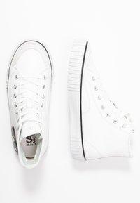 KARL LAGERFELD - KAMPUS KARL IKONIC - Sneakers high - white - 3
