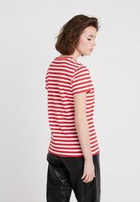 Samsøe Samsøe - SOLLY TEE - Print T-shirt - red - 2