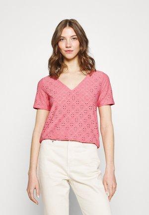 VITRESSY DETAIL V-NECK - T-shirt imprimé - wild rose