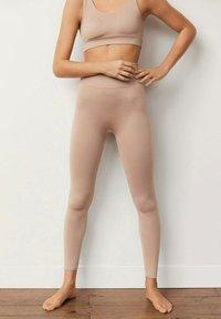 Mango - Leggings - nude - 1