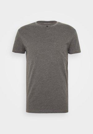 T-shirt basic - mottled dark grey