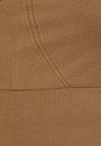 ARKET - Light support sports bra - brown - 2