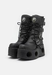 New Rock - UNISEX - Bottes à lacets - black - 1